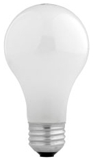 28A/HAL/SSW/4-120V SYL HAL A19 LAMP 28W 120v MED.BASE SUPER SOFT WHITE 52190 48/case