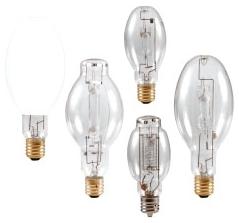 M175/PS/U/ED28 SYLVANIA 175W METALARC PULSE START METAL HALIDE LAMP, REDUCED COLOR SHIFT, E39 BASE, ED28 BULB, ENCLOSED FIXTURE RATED, UNIVERSAL BURN, CLEAR, 4000K 04613564043 64043