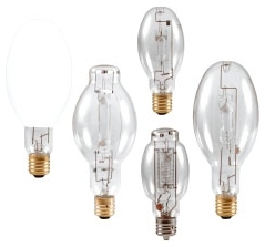 M250/PS/U/ED28 SYLVANIA 250W METALARC PULSE START METAL HALIDE LAMP, REDUCED COLOR SHIFT, E39 BASE, ED28 BULB, ENCLOSED FIXTURE RATED, UNIVERSAL BURN, CLEAR, 3800K 04613564046 64046 6/case