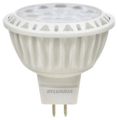 LED9MR16/DIM/830/NFL25 74044 SYLVANIA LED MR16, 9W, DIMMABLE, 80CRI, 700 LUMEN, 3000K, 25000 LIFE
