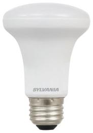 LED4.5R20DIM827G3RP 74477 SYLVANIA LED R20, 4.5W, DIMMABLE, 80CRI, 325 LUMEN, 2700K, 25000 LIFE