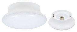 LED/700/CL/840/RP 75081 SYLVANIA 10W, 120V MED BASE RETROFIT CEILING LIGHT FOR INSTALLATION INTO EXISTING PORCELAIN SOCKET. NOT DIMMABLE. RETAIL PACK.