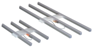 LEDRTROFF3L040UNVD84024WH/75498 SYLVANIA 3 LAMP, 4800 LUMENS, 4000K TROFFER RETROFIT KIT FOR 2X4 FLUORESCENT LUMINAIRES. UNIVERSAL INPUT VOLTAGE , DIMMABLE USING 0 10VDC.