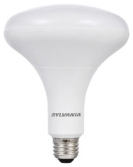 LED12BR40DIMHO827G5 78063 SYLVANIA LED BR40, 12W, DIMMABLE, 80CRI, 1100 LUMEN, 2700K, 25000 LIFE