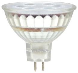 LED5MR16/DIM/830/FL35/GL/RP 78233 SYLVANIA LED MR16, 5W, DIMMABLE, 82CRI, 350 LUMEN, 3000K, 25000 LIFE