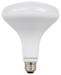 LED13BR40DIM82710YVRP2 79498 SYLVANIA LED BR40, 13W, DIMMABLE, 80CRI, 900 LUMEN, 2700K, 11000 LIFE