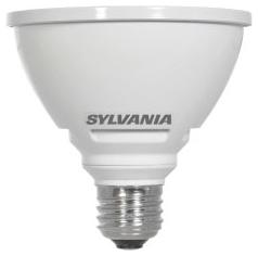 LED12.5PAR30/HD/DIM/930/FL40 79574 SYLVANIA LED PAR30, 12.5W, DIMMABLE, 91CRI, 1000 LUMEN, 3000K, 25000 LIFE