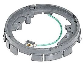 68-PAR T&B PLASTIC RING W/GASKET CLIP