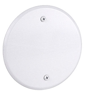 CCRB RED-DOT 5-IN RND BLANK COVER WHITE
