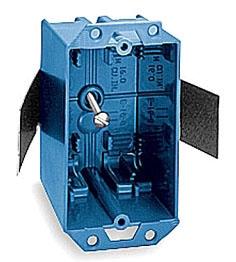 E16-8 CAR 1G 16CU OLD WORK PLASTIC BOX