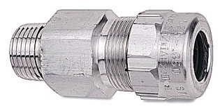 ST100-469 T&B STAR TECK AL JACKETED CABLE FITTING HUB SIZE 1IN