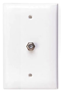40539-MW LEV PHONE/F CONN WALL MOUNT MIDWAY 6P4C WHITE