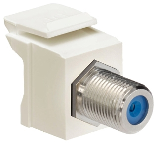 41084-FTF LEV F-TYPE SNAP-IN - QUICKPORT LT ALMOND