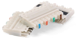 49104-IDC LEV 110C-4 CONNECTORS min pk/10