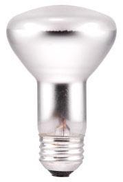 45R20/130V SYLVANIA INCANDESCENT-R20-REFLECTOR-LAMP-IND ISE-FROST-FINISH-45-WATT-130-VOLT 04613515699