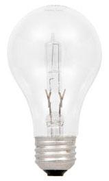 53A17/SS/HAL/CL-120V SYL HAL A17 LAMP 53W 120V CLEAR 52555 24/case