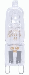 40T4/G9/CL-120V SYL 40W G9 57022 Clear Halogen Lamp