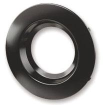 RT4/TRIM/BLK 70696 SYLVANIA TRIM RING FOR RT4 DOWNLIGHT RECESSED KIT, BLACK TRIM <(>&<)> BLACK REFLECTOR