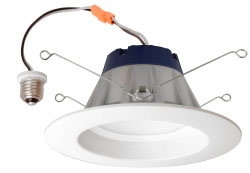 LEDRT56900930FL80 74295 SYLVANIA 900LM 3000K 90CRI, LED RECESSED DOWNLIGHT KIT REPLACING UP TO 75W INCANDESCENT BR30, SUITABLE FOR 5