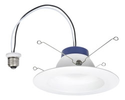 LED/RT/5/6/625/840 74406 SYLVANIA 625LM 4000K LED RECESSED DOWNLIGHT KIT REPLACING UP TO 60W 4/case INCANDESCENT SUITABLE FOR 5