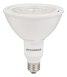 LED16.5PAR38/HD/DIM/935/NFL25 78359 SYLVANIA LED PAR38, 16.5W, DIMMABLE, 91CRI, 1350 LUMEN, 3500K, 25000 LIFE