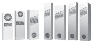 XR200416012 HOFFMANE Heat Exchanger 115v 50/60Hz 20.00x7.50x3.00 Steel/LtGray