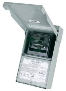 U065F1 MEP 60A METL ENC FUSED PULL-OUT USE WF2060