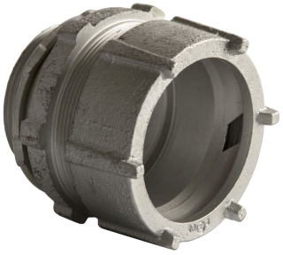 1834 RACO RGD/IMC COMPR COUPLING 3-1/2 MALL IRON