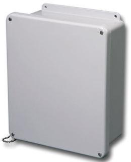 J806W STA FG 8X6X4 4X JIC ENCL. W/Lift Off Cover & S.S. Screws