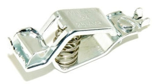 SC-24A-BG SELECTA CLIP, BATTERY, CAD PLATED STEEL, 25A, 3/4