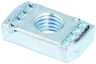 N228WOZN B-LINE NUT 3/8 W/O SPRING 100/BOX