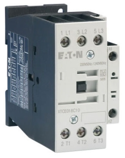 XTCE018C10T CH CONTACTOR 3P FVNR 18A FRAME C 1NO 24/50 24/60 COIL