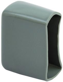 B852BLK B-LINE PLASTIC END CAP FOR 13/16