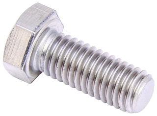 3/8x11/2HHCSZN B-LINE HEX HEAD CAP SCREW, 3/8