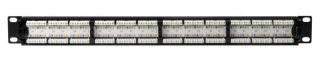 PP110C624 TYTON CAT6 24 PRT PATCH PANEL 1 RACK UNIT