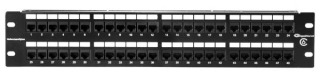 PP110C648 TYTON CAT6 48 PRT PATCH PANEL 2 RACK UNIT