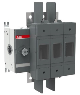 OS100GJ03 ABB 3POLE 100A CLASS J FUSIBLE DISCONNECT SWITCH; ALL POLES TO RIGHT OF MECHANISM