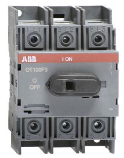 OT100F3 ABB 3P 100A UL98 NF SWITCH