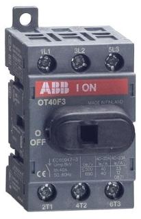 OT40F3 ABB 3P 40A UL508 NF SW RPLS OT32E3