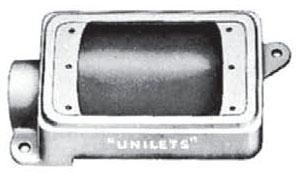 FD-1-50L APP 1/2 1G FD UNILET W/ MNTG LUGS
