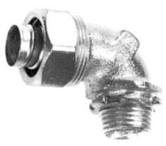 ST9038 APP 3/8 90D STEEL ST CONN