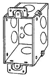 333 APP 2-3/4 DEEP SWITCH BOX W/ EARS