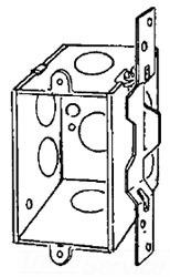 333VB APP 2-3/4 DEEP SWITCH BOX W/ BRKT