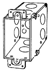 333D APP 3-1/2 DEEP SWITCH BOX W/ EARS