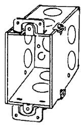336 APP 3-1/2 DEEP SWITCH BOX W/ EARS