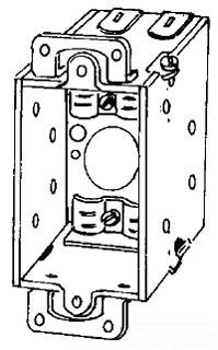 383 APP 2-IN DEEP SWITCH BOX W/ EARS