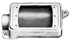 FS-1-75 APP 1-GANG FS UNILET 3/4 KO'S