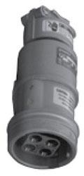 ARC6034BC APP 3W-4P 60A PIN/SLEEVE CONN BODY