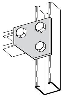 B135ZN 3H FRAME CONN PLT B-LINE