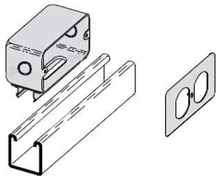 B516GALV BLINE B516 SNAPIN OUTLT BOX GAL